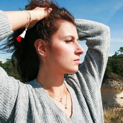 Bijoux d'oreilles Perline