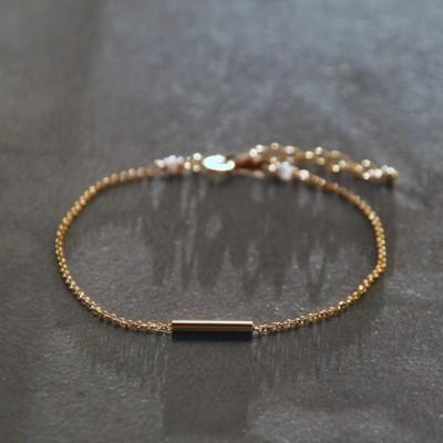 Bracelet Hyphen doré