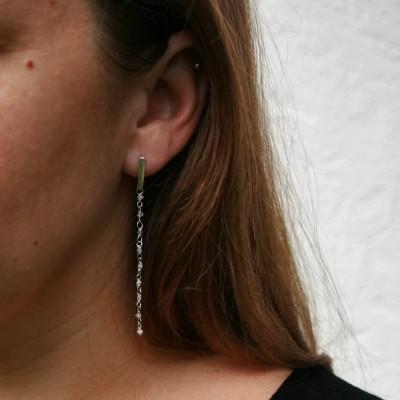 Boucles d'oreilles -...