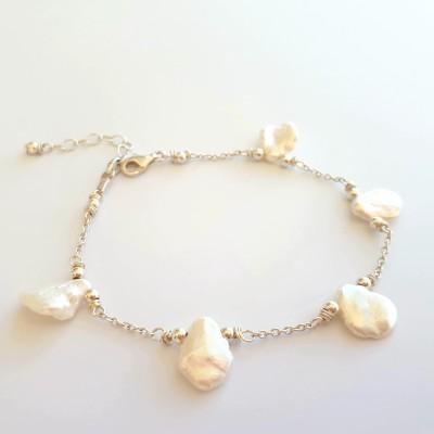 Bracelet Pétales de perles
