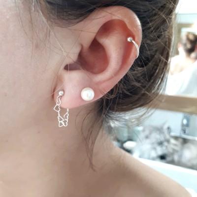 Boucles d'oreilles Ribambelle